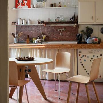 gu ridon esstisch von vitra connox. Black Bedroom Furniture Sets. Home Design Ideas