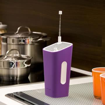 Sonoro - CuboGo London DAB+ Radio, weiß/ violett - Küche