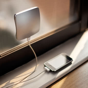 XD Design - Window Solar Charger, silber