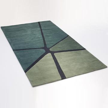 Ruckstuhl - Crack Teppich, meergrün