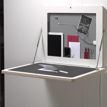 Müller Möbelwerkstätten - Workframe, weiß/ Linoleum