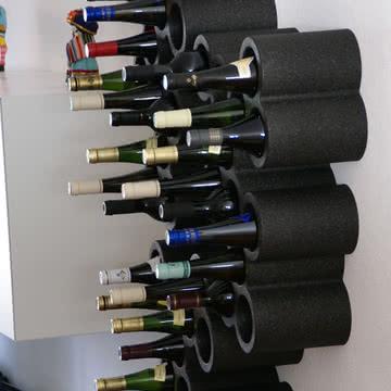 Goods - Grape Weinregal - mit Flaschen