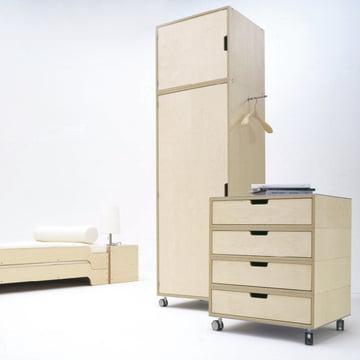 Müller Möbelwerkstätten - Modular, natur - Schrankbeispiel