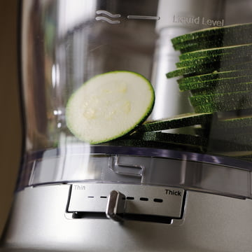 KitchenAid - Food Processor, 3,1 L - geschnittene Gemüsescheiben