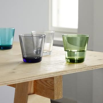 Kartio Gläser in verschiedenen Farben