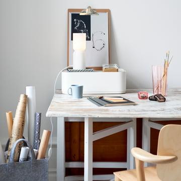 Aalto auf dem Schreibtisch