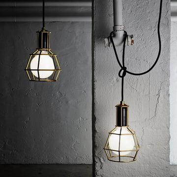 Design House Stockholm - Work Lamp, gold - leuchtend
