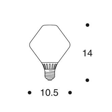 Artek - Leuchtmittel zur TW003 Pendelleuchte - Maße