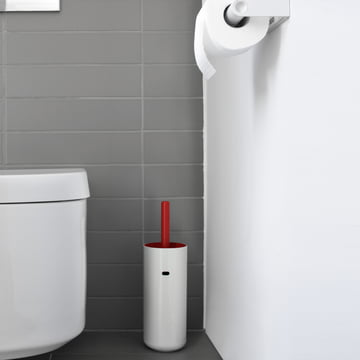 WC-Bürste mit farbig-mattem Bürsteneinsatz