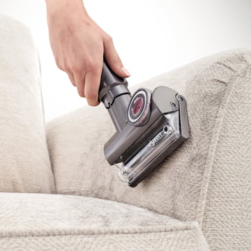 Dyson - Tangle-free Mini Turbinendüse - Anwendung, Sofa