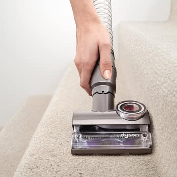 Dyson - Tangle-free Mini Turbinendüse - Anwendung, Treppe