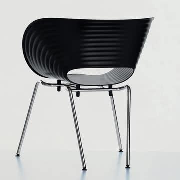 Vitra - Tom Vac, Ambientebild, schwarz