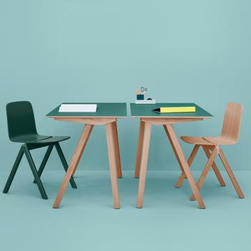 Hay - Copenhague, Gruppe Schreibtische und Stühle