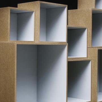 OK Design - Babushka Boxes, grau - nah