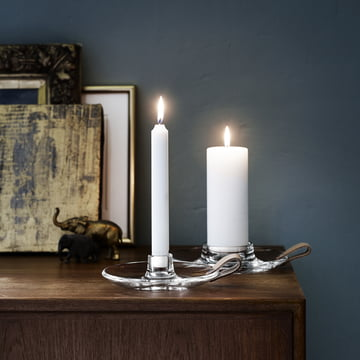 Holmegaard - Design with Light Kerzenhalter - beide Größen