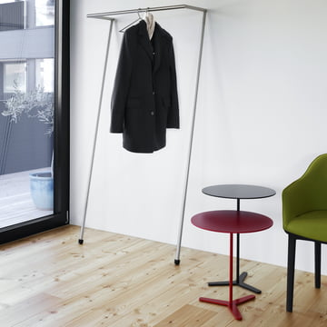 Tre Beistelltisch von Mox mit Zen Garderobe
