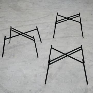 Schindlersalmeron - Tischgestell, Ambientebild / 3er-Gruppe