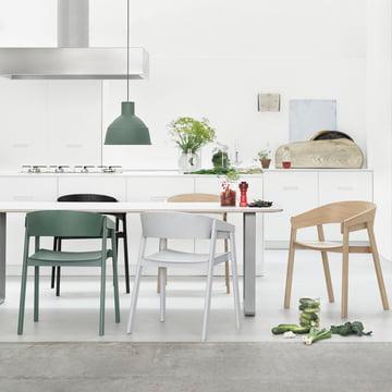 70 / 70-Tisch von Muuto in der Küche