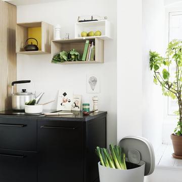 Muuto - Mini Stacked Regalsystem, Ambientebild Küche