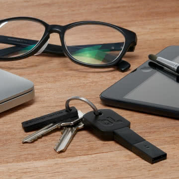 Bluelounge - Kii USB-Adapter, Lightning, schwarz