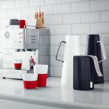 Caffé Latte-Becher und der Espresso-Becher von Eva Solo