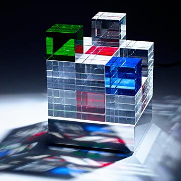 Tecnolumen - Cube Light, bunt