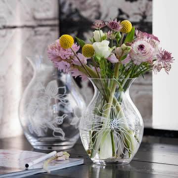 Rosendahl - Saga Magnolie Vase, 19 cm, beide Größen
