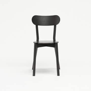 Der Karimoku New Standard - Castor Chair in schwarz