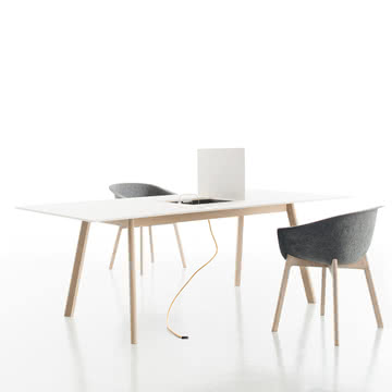 Conmoto - Pad Table / Chairman - offener Ausschnitt