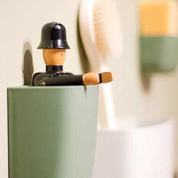 Normann Copenhagen - Pocket Organizer, grün - nah
