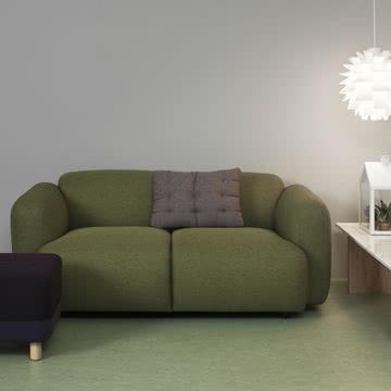 Normann Copenhagen - Swell 2-Sitzer, grün
