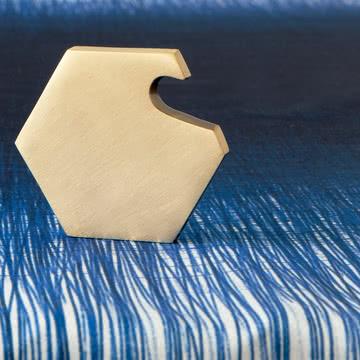 ferm Living - Pen Tischdecke, blau - nah