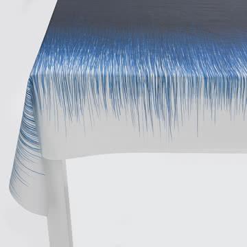 ferm Living - Pen Tischdecke, blau - Detail, Seite