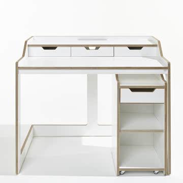 Müller Möbelwerkstätten - Plane Sekretär Container, offen