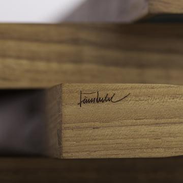 ArchitectMade - Tablett Turning Tray - Detail, Signatur