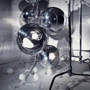 Tom Dixon - Light Tripod Stand Mirror Balls