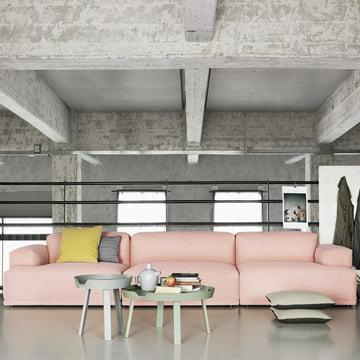 Connect Sofa und Around Tisch von Muuto