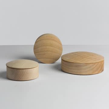 Hay - Lens Box / Deckel, Ahorn - Gruppe
