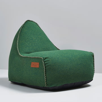 Sack it - Retro it Outdoor Sitzsack, grün