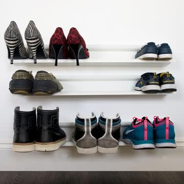 j-me - Horizontaler Schuhhalter, weiß