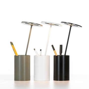 Formagenda - E.T. Tischleuchte, weiß, grau, schwarz - Stifte