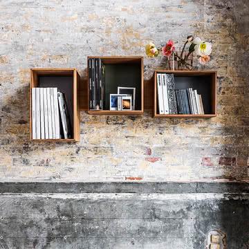 Wandregal für vielfältigste Dinge - SJ Bookcase Midi