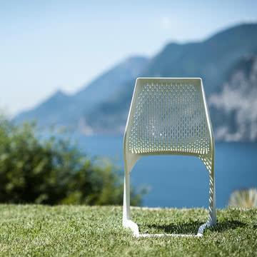 Plank - Myto Stuhl, outdoor, weiß