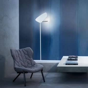 Foscarini - Lightwing LED Stehleuchte, weiß