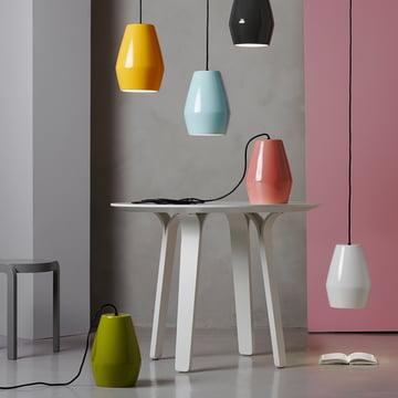 Bell Pendelleuchte von northernlighting in verschiedenen Farben
