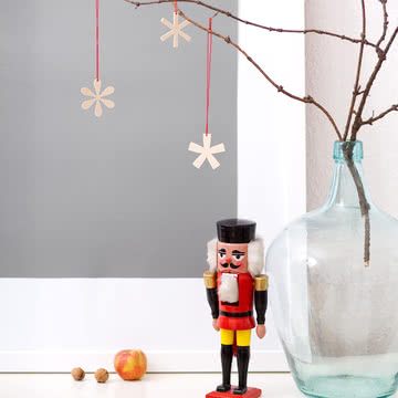 Snug.studio - snug.typostars Weihnachtskarte + 3 Anhänger