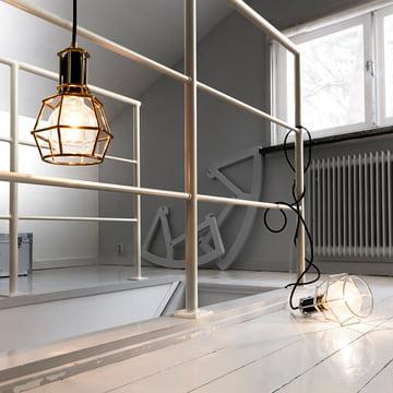 Design House Stockholm - Work Lamp, gold, silber