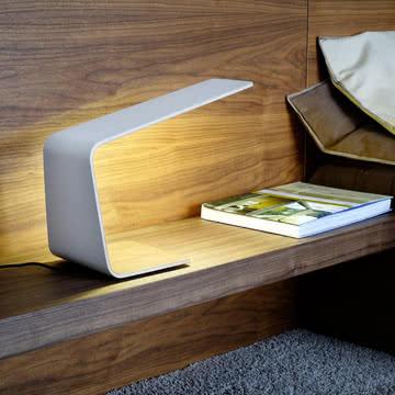 Led 1 Tischleuchte als dezente Leuchte im Schlafzimmer