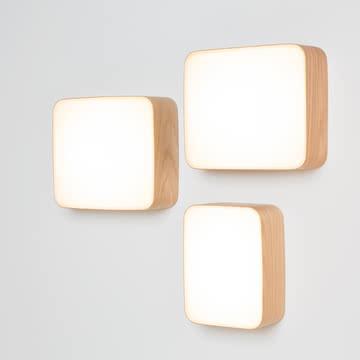 Cube Wandleuchten von Tunto in S, M und L
