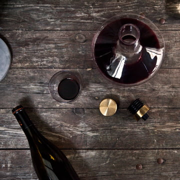 Menu - Wine Breather, Deluxe, Gold
